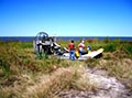 Air boat at Pass A Loutre for Wetlands Restoration work