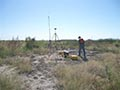 GPS Base Station at Pass A Loutre for Wetlands Restoration work
